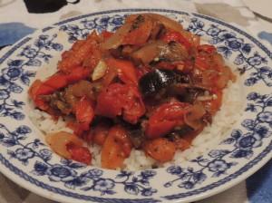 Eggplant and beef