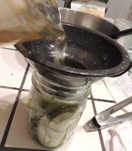 cucumber pouringbrine
