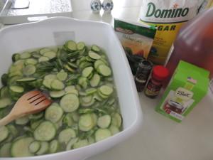 lime cucumbers