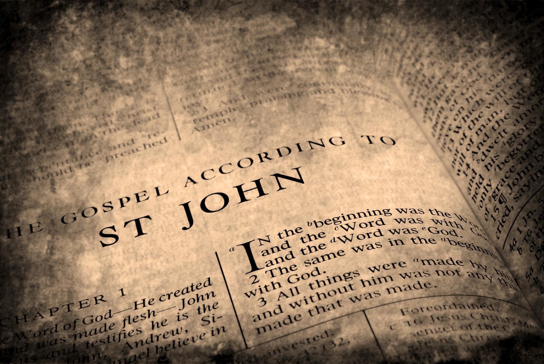 Bible New Testament St. John - Joy To My Heart