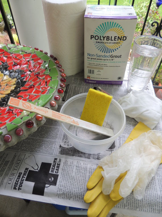 grouting supplies