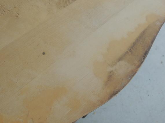 sanded veneer