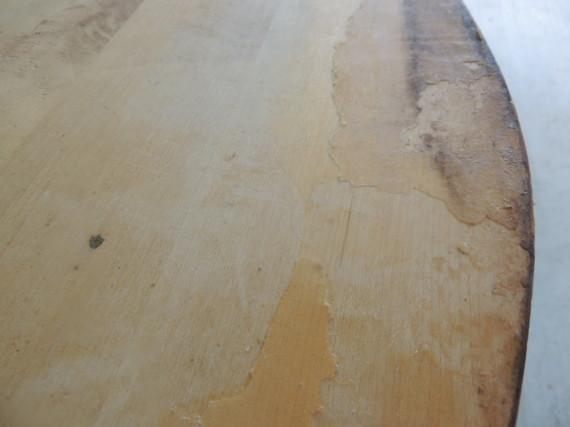 veneer glue left