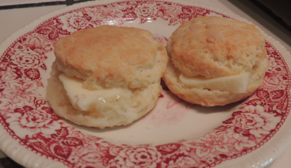 buttered sourcream biscuits