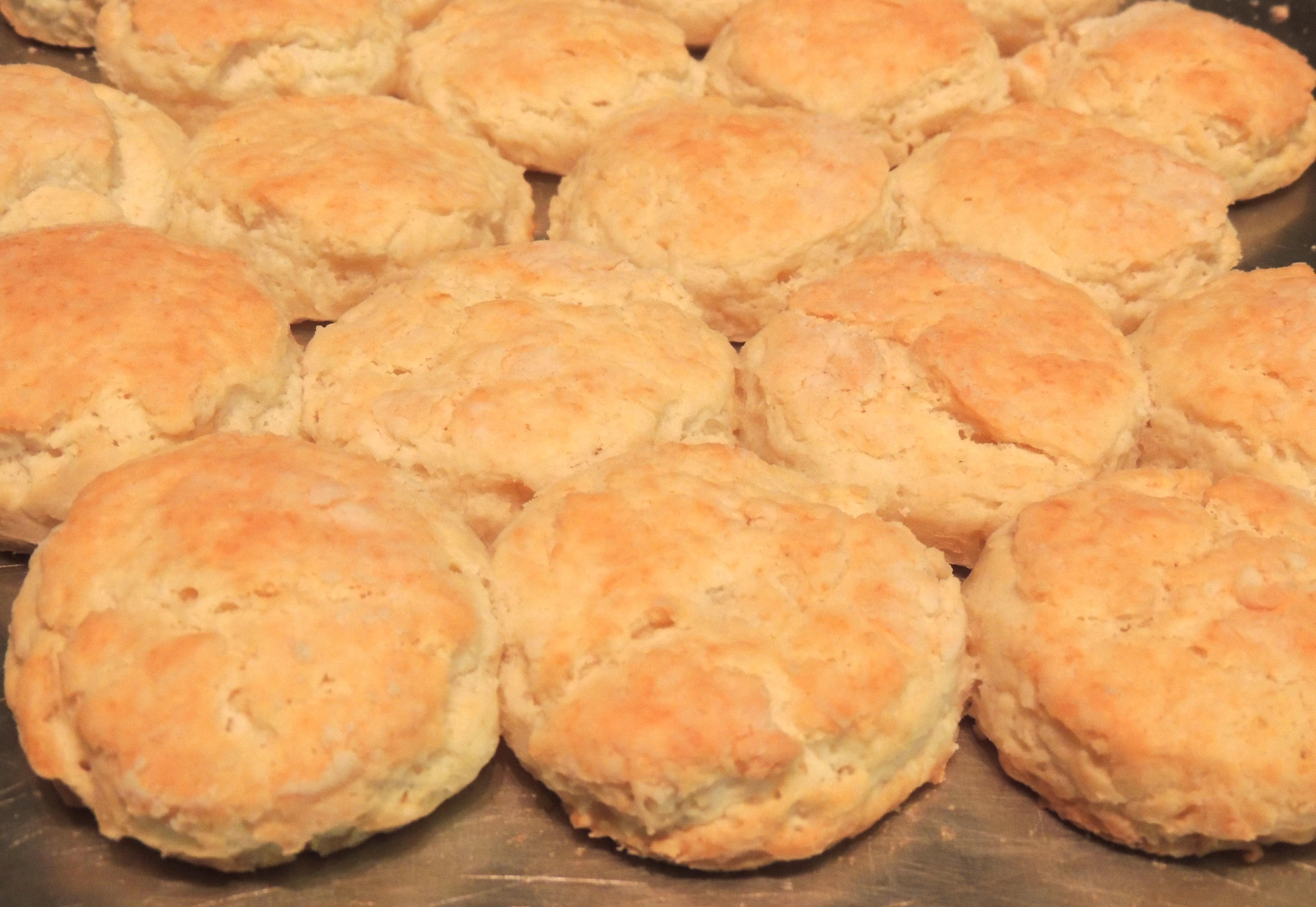 sourcream biscuits pan - Joy To My Heart