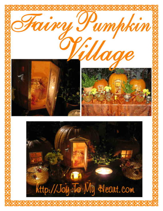 Fairy Pumpkin Village