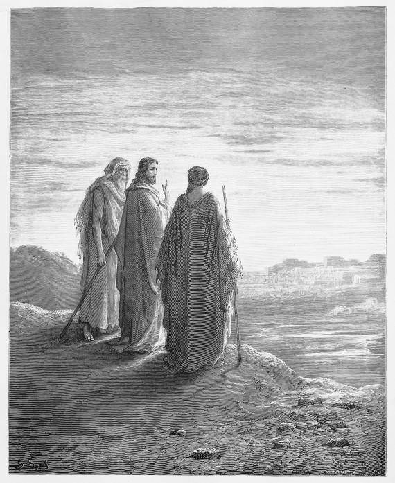 Jesus Emmaus road