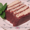 Choclate Layer Cake Slice