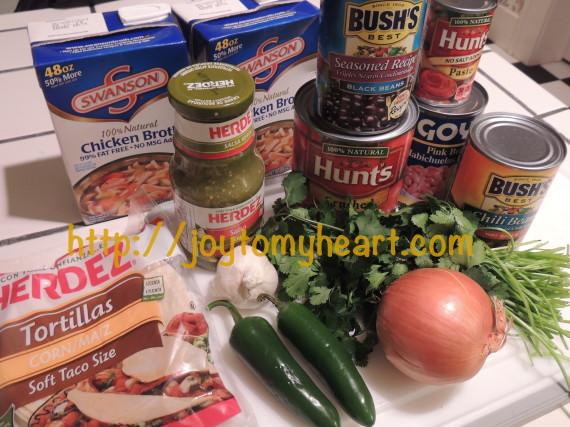 chicekn tortilla ingredients