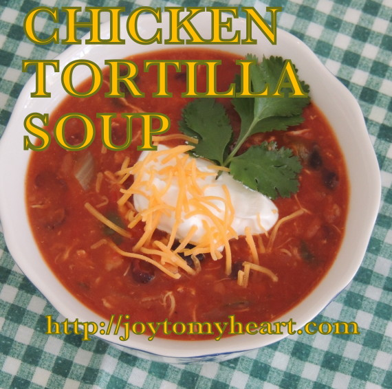 chicekn tortilla soup cheese