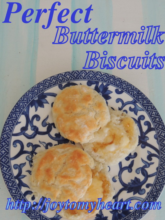 perfect buttermik biscuits