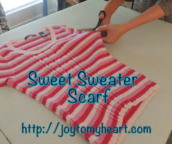 sweet sweater scarf