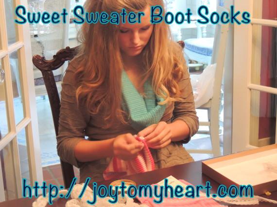 sweet sweter boot socks hannah