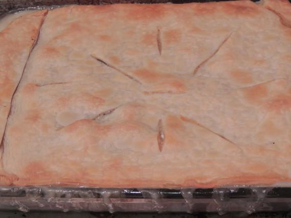 chicken pie done