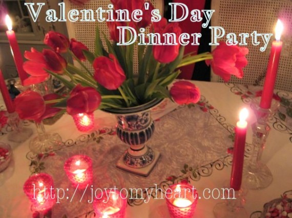 valentines day dnner party