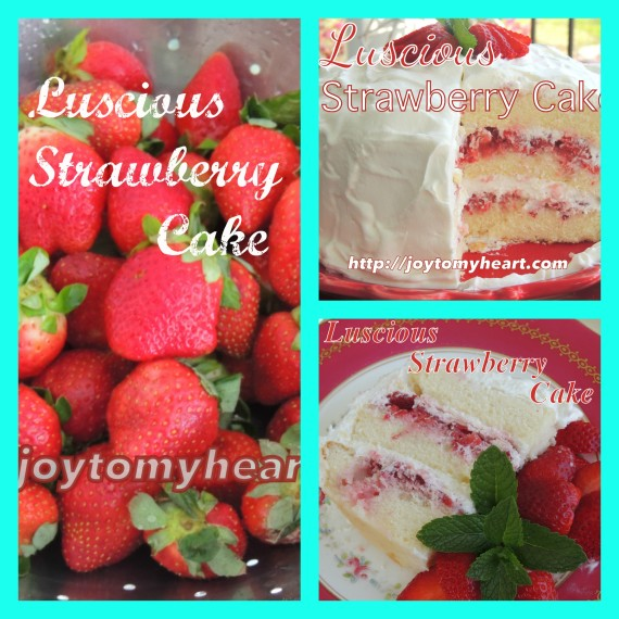 Luscious Strawberry CakePM