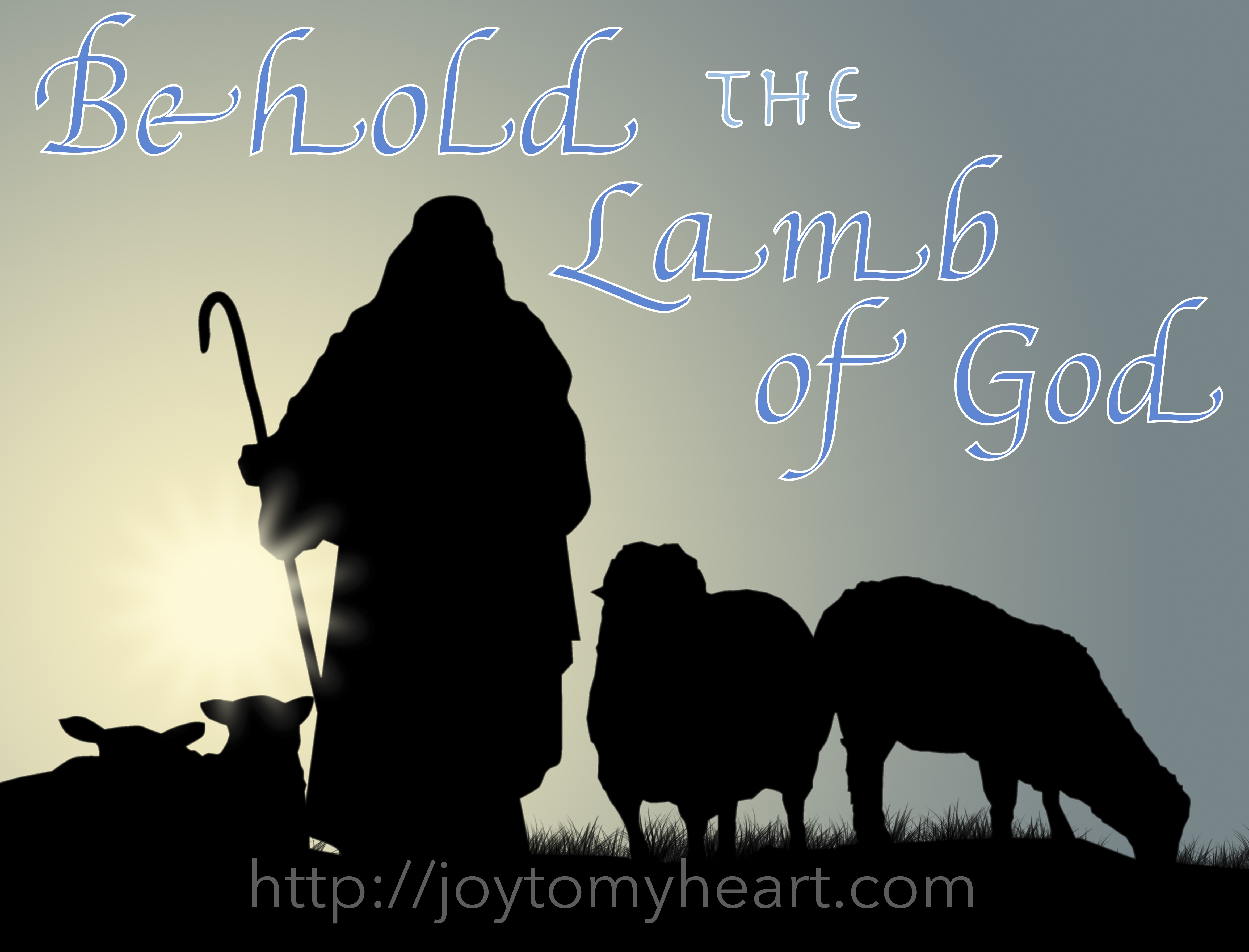 Behold The Lamb Of God Pt 5