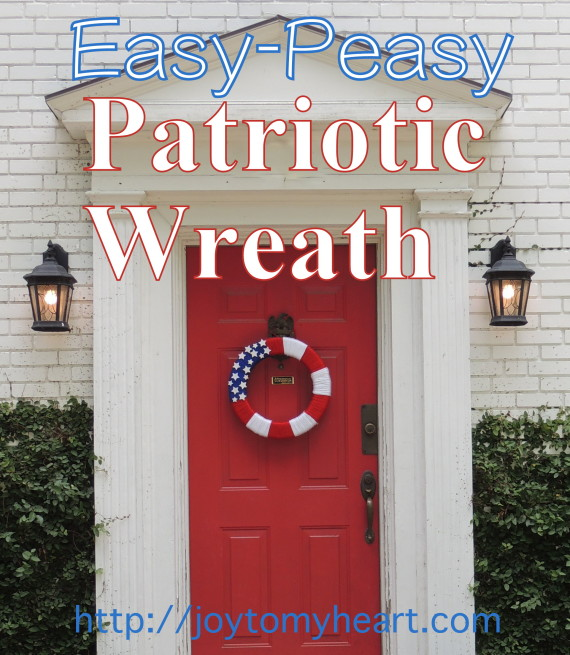 Yarn Wreath Easy Peasy