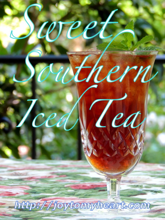 sweet southern icced tea
