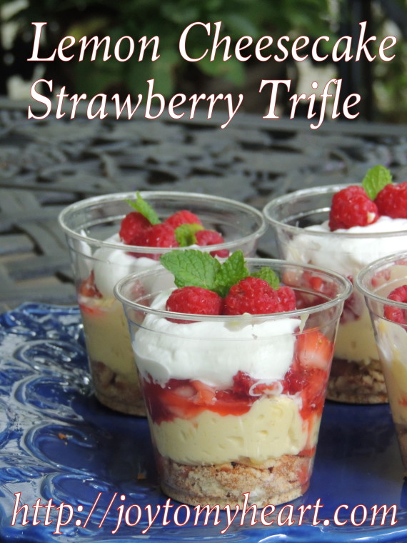 Lemon Cheesecake Trifle