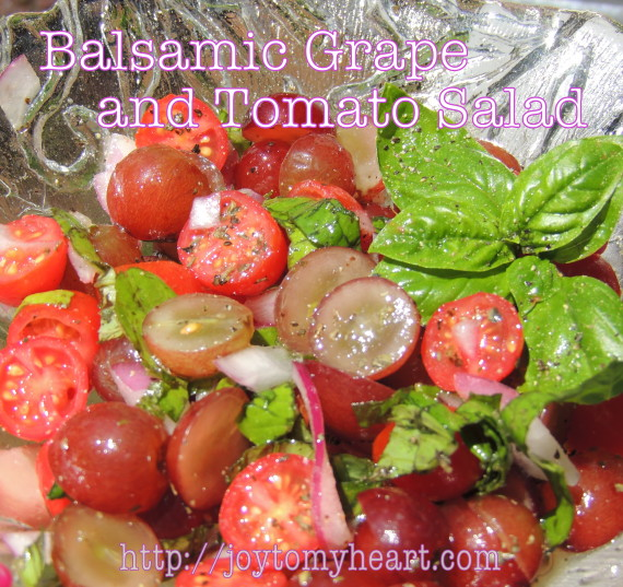 balsamic grape and tomato salad1A
