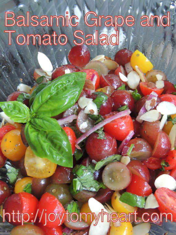 balsamic grape and tomato salad3