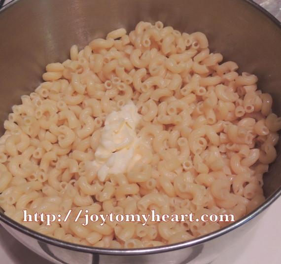 macaroni cooked