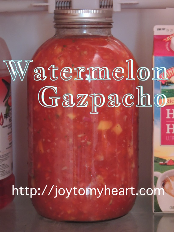 watermelon gazpacho gallon