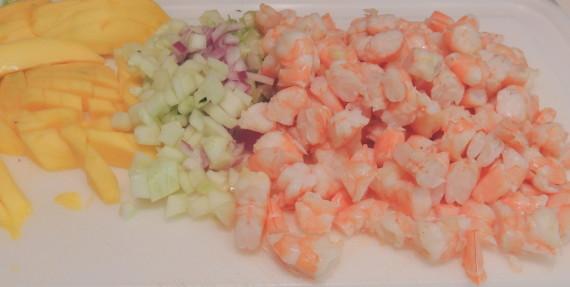 shrimp mango salad ingr