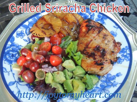 Grilled Sriracha chicken2