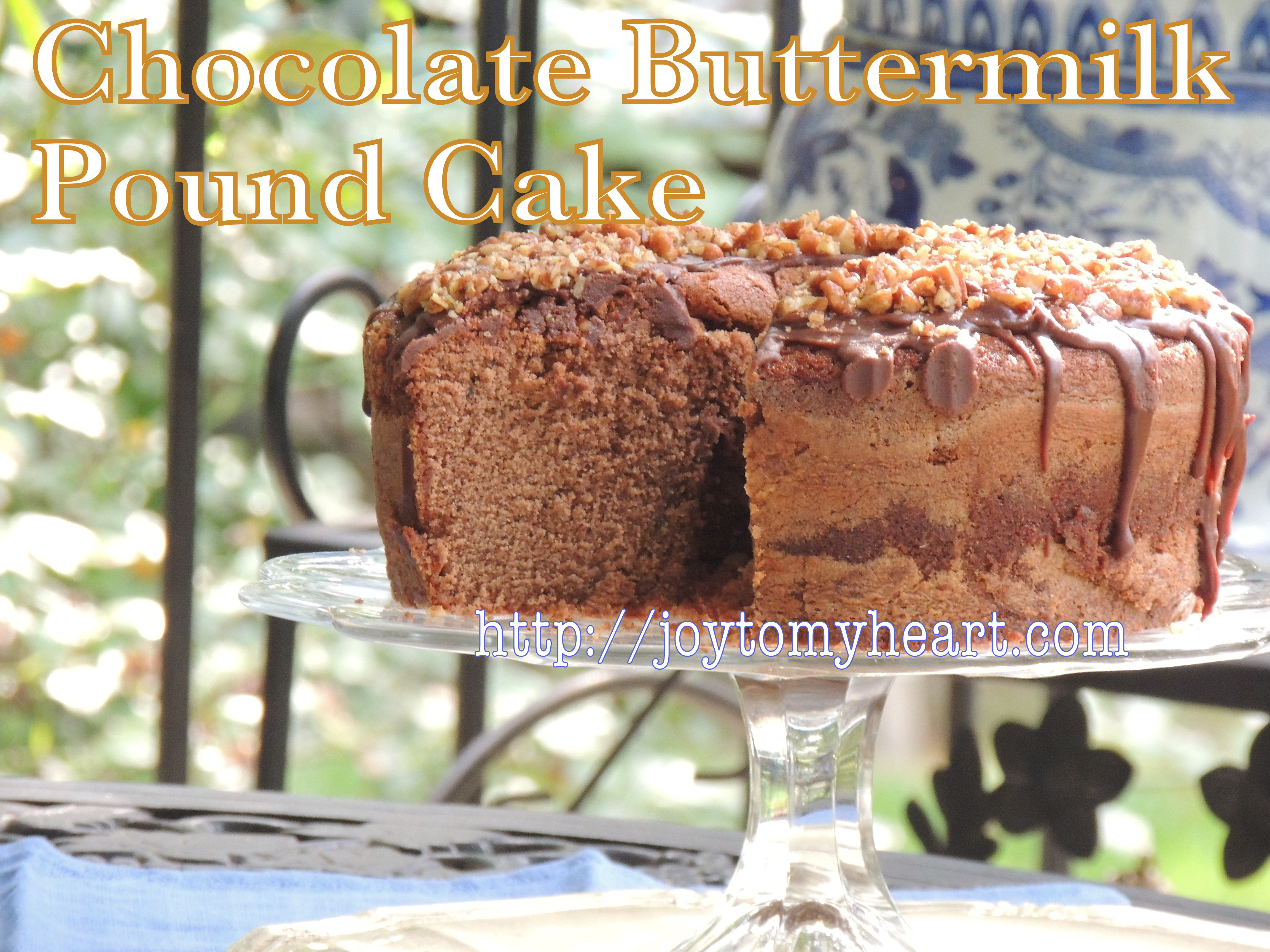 Chocolate Buttermilk Pound Cake