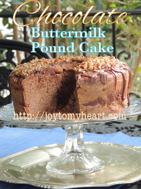 chocolate buttermilk pound cake1