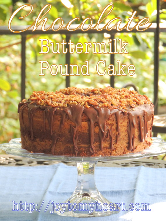 chocolate buttermilk pound cake3