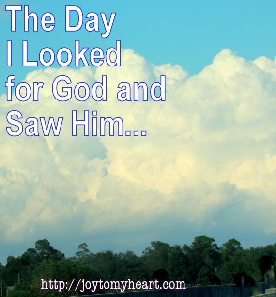 the day I looked for God