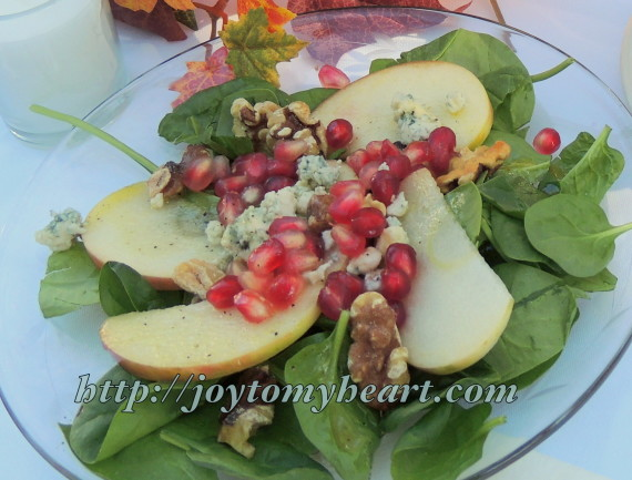 5pomgranate salad
