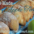 Homemade Apple Tarts wide