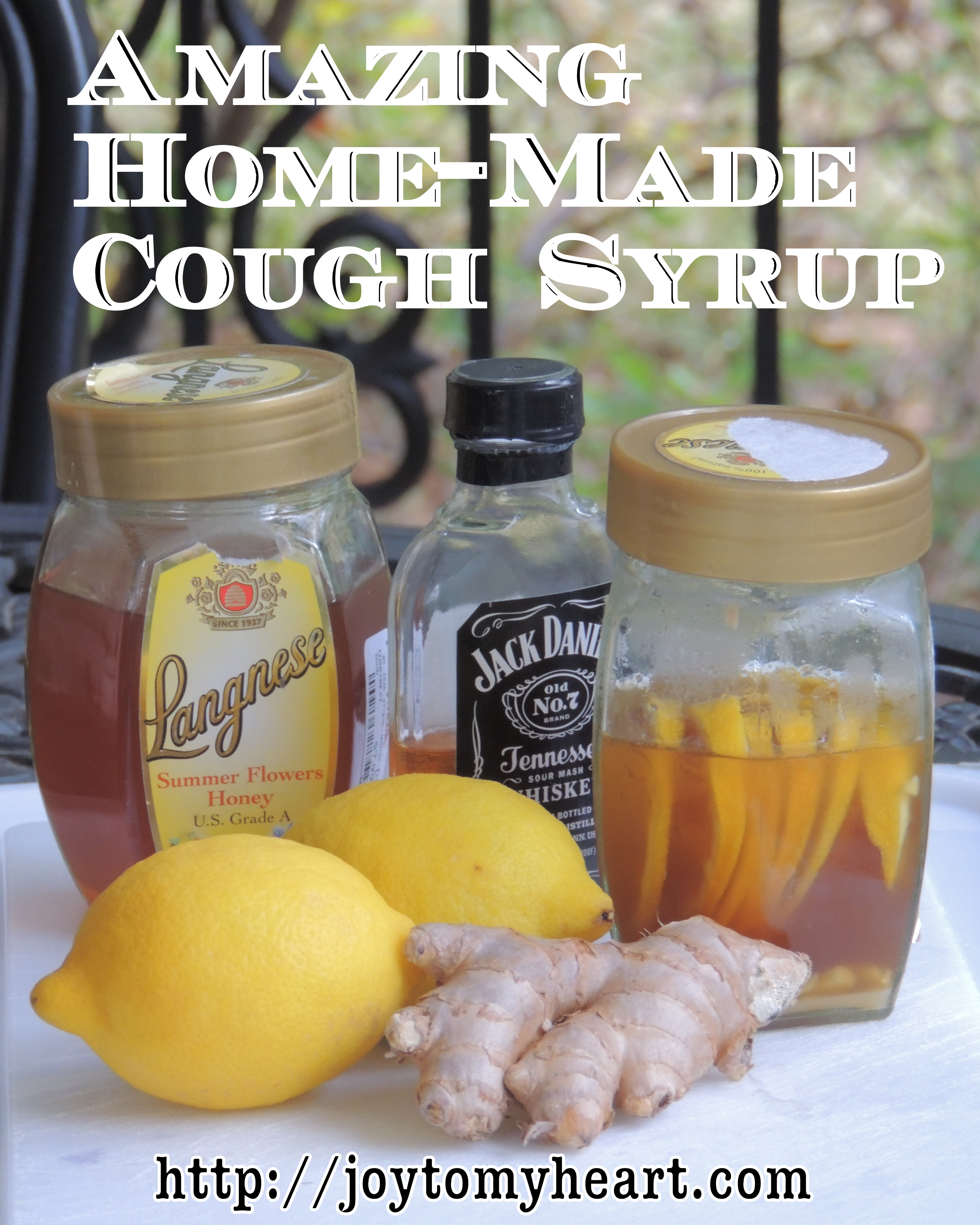 Amazing Homemade cough syrup