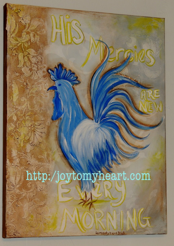 mamas rooster painting