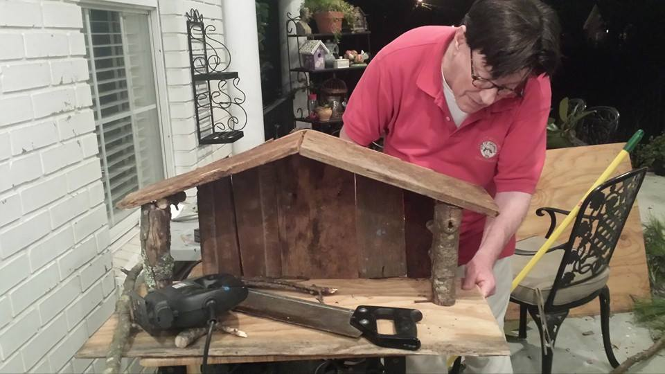 Building A Nativity Creche