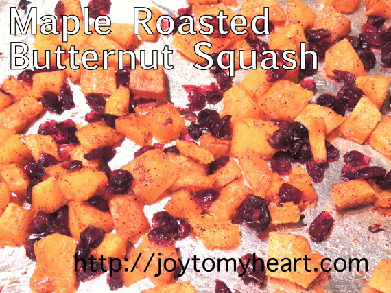 Maple Roasted Butternut Sqaush6