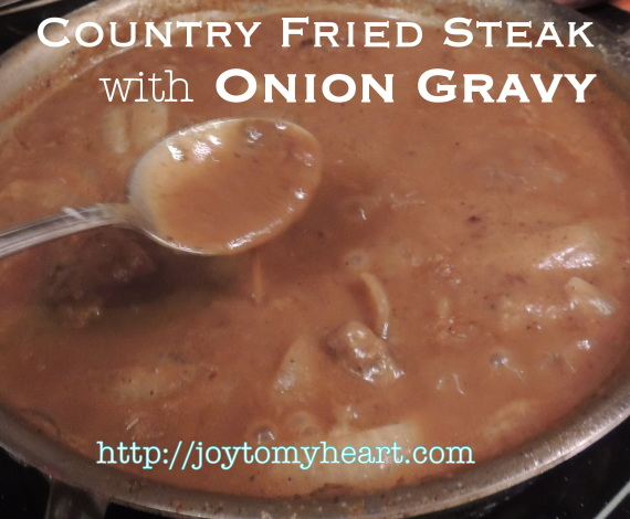 country fried steak with gravy4