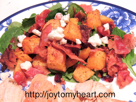 maple roasted butternut squash5