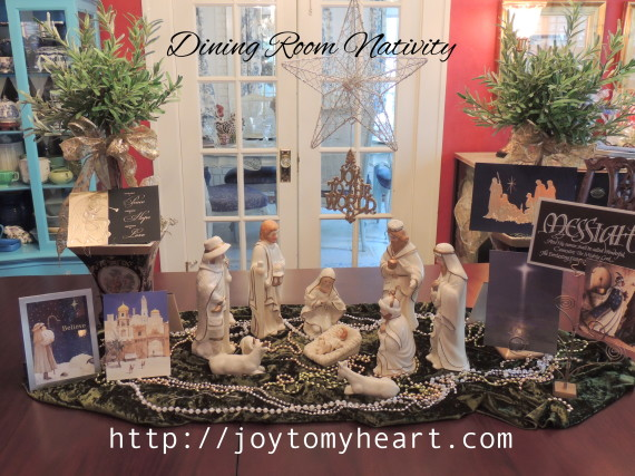 nativity dining room