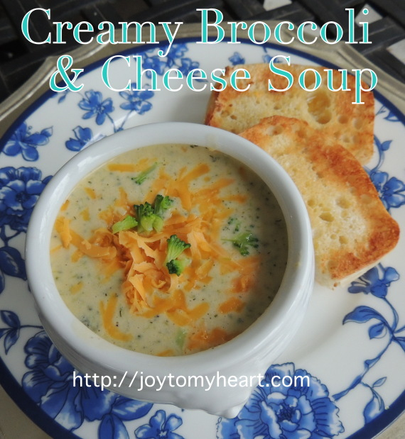 Creamy Broccoli and Cheese Soup3