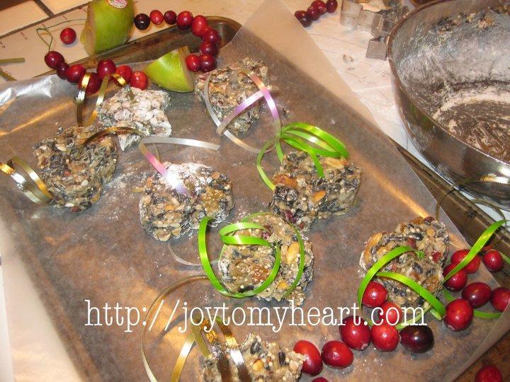 Ornamentos de Birdseed del huevo de Pascua - canj de <br> No Te Lo Pierdas! RYGblog.com