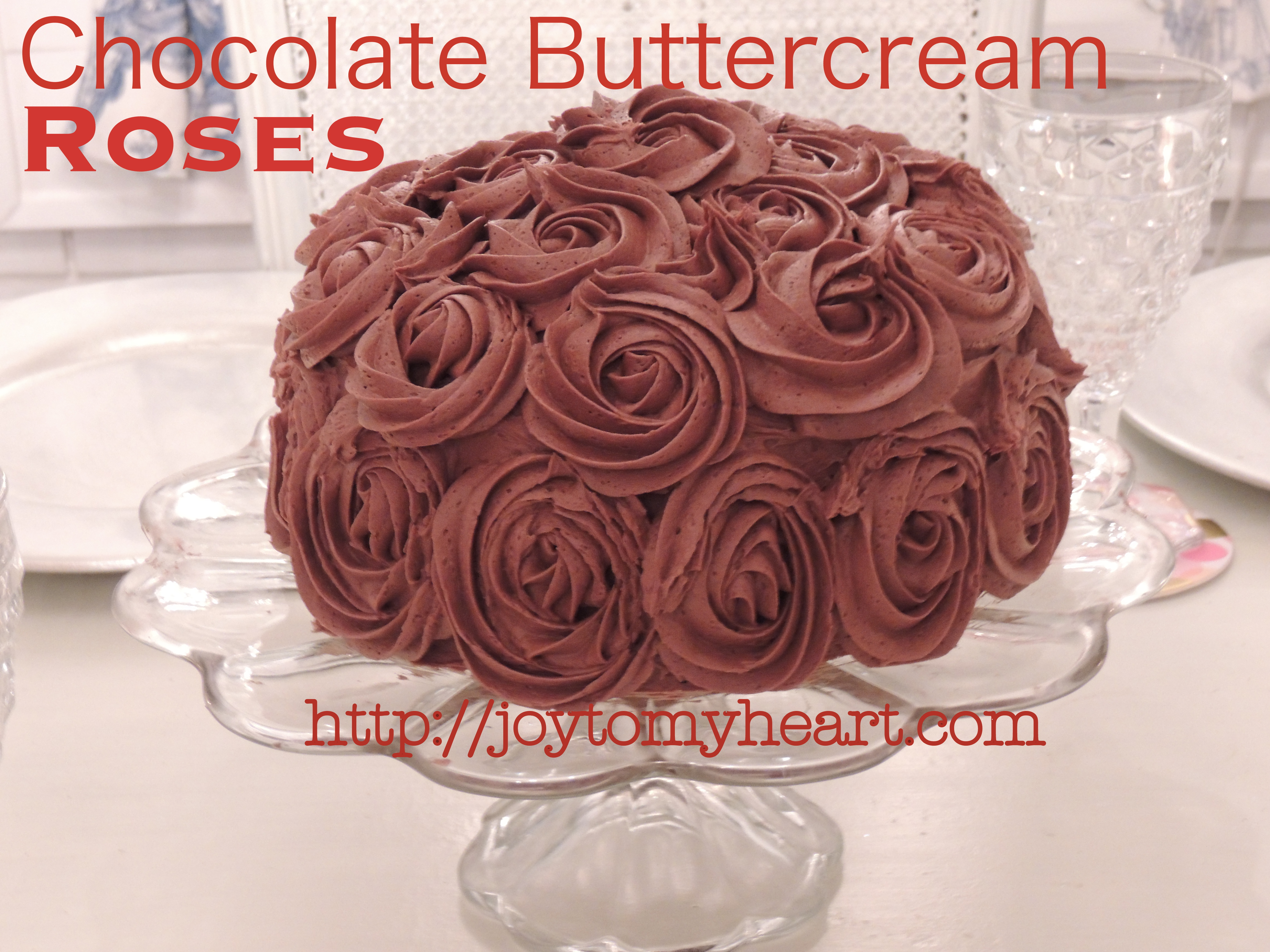 Chocolate Rose Cake Archives - Joy To My Heart