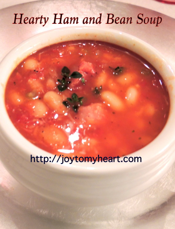 Hearty Ham and Bean Soup2