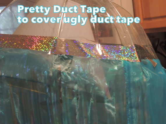 Jelly fish duct tape