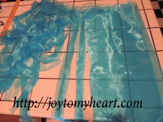 Jellyfish costume fabric