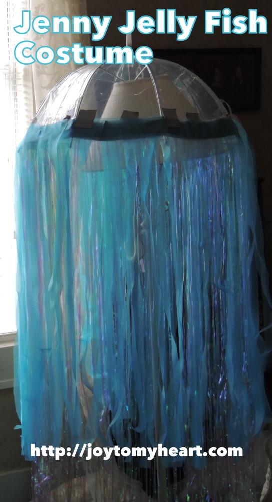 Jenny Jellyfish costume fabric